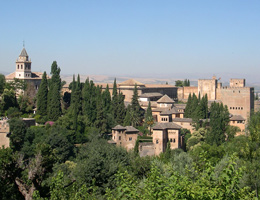 Attractions, Granada city